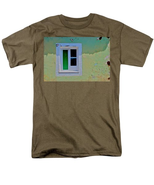 Azores Window Men's T-Shirt  (Regular Fit) by Eric Tressler