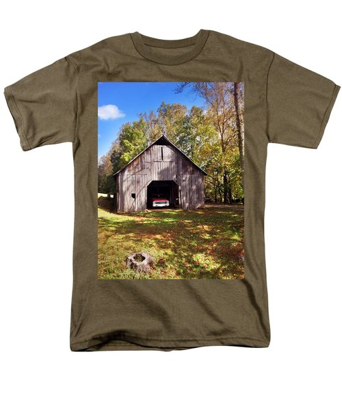 Barn An Chevy Men's T-Shirt  (Regular Fit) by Janice Spivey