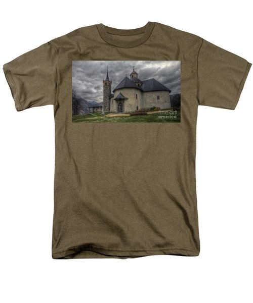 Baroque Church In Savoire France 6 Men's T-Shirt  (Regular Fit) by Clare Bambers