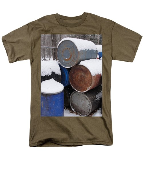 Men's T-Shirt  (Regular Fit) featuring the photograph Barrel Of Food by Tiffany Erdman