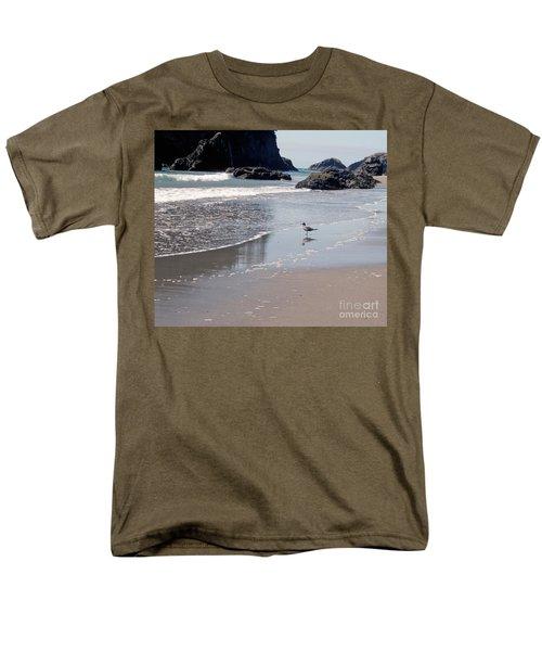 Beachcomber Men's T-Shirt  (Regular Fit) by Sharon Elliott