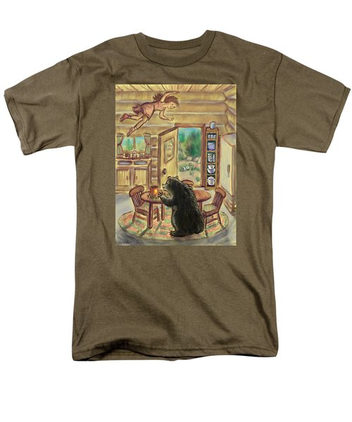 Bear In The Kitchen - Dream Series 7 Men's T-Shirt  (Regular Fit) by Dawn Senior-Trask