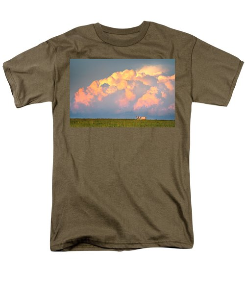 Men's T-Shirt  (Regular Fit) featuring the photograph Beefy Thunder by Brian Duram