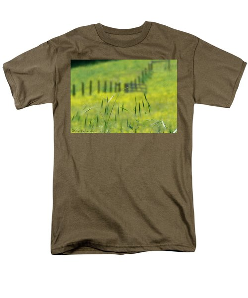 Men's T-Shirt  (Regular Fit) featuring the photograph Beyond The Weeds by EricaMaxine  Price