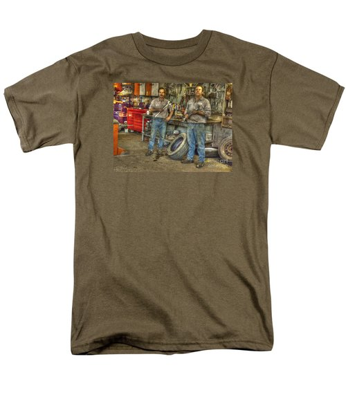 Men's T-Shirt  (Regular Fit) featuring the photograph Big Wrenches by William Fields