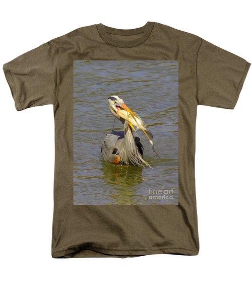 Bigger Fish To Fry Men's T-Shirt  (Regular Fit) by Robert Frederick