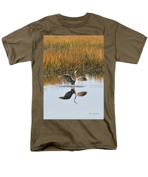 Bird Dance Men's T-Shirt  (Regular Fit) by Kay Lovingood