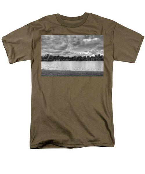 Men's T-Shirt  (Regular Fit) featuring the photograph Black And White Autumn Day by Michael Frank Jr