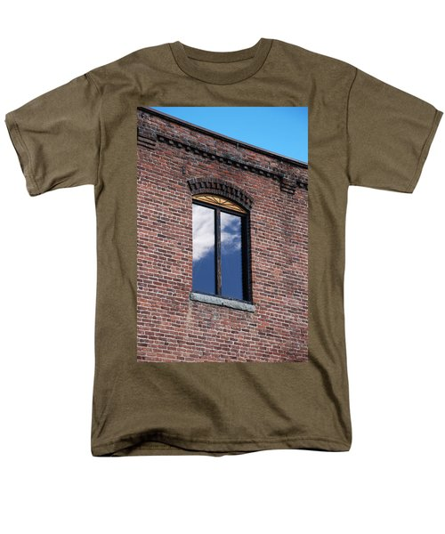 Men's T-Shirt  (Regular Fit) featuring the photograph Building Series - Sky Views by Kathleen Grace