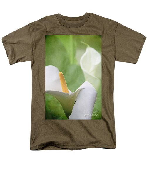 Calla Lilies Men's T-Shirt  (Regular Fit) by Alyce Taylor