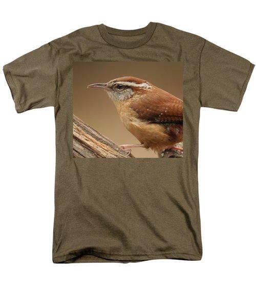Carolina Wren Men's T-Shirt  (Regular Fit) by Daniel Reed