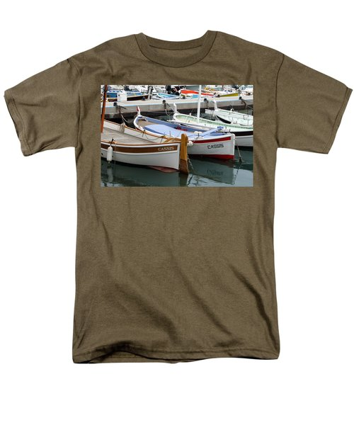 Men's T-Shirt  (Regular Fit) featuring the photograph Cassis Harbor by Carla Parris