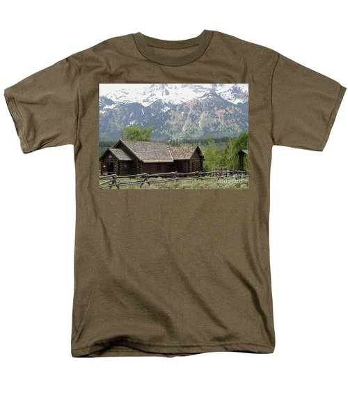 Men's T-Shirt  (Regular Fit) featuring the photograph Chapel Of The Transfiguration Episcopal by Living Color Photography Lorraine Lynch