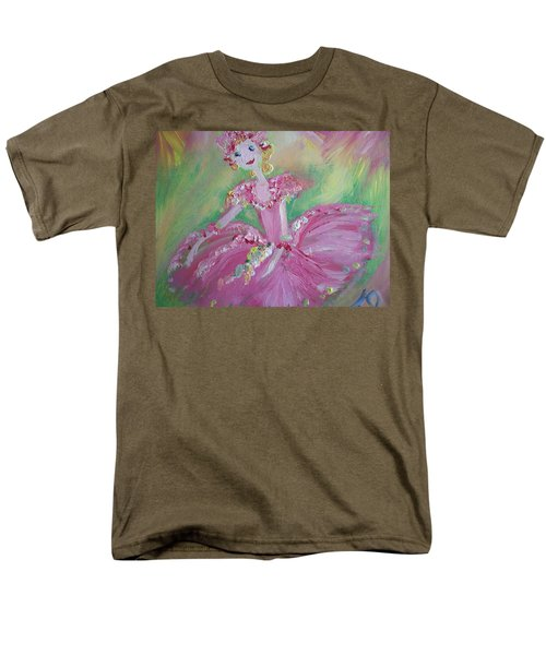 Christmas Ballerina Men's T-Shirt  (Regular Fit) by Judith Desrosiers