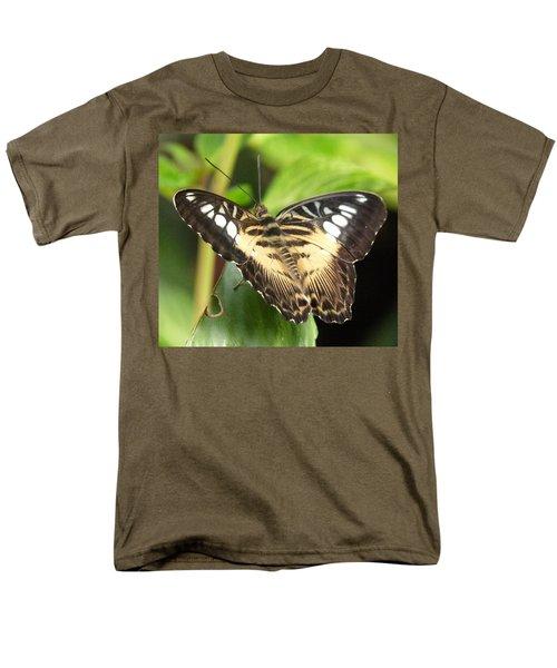 Men's T-Shirt  (Regular Fit) featuring the photograph Clipper Butterfly by Lynn Bolt