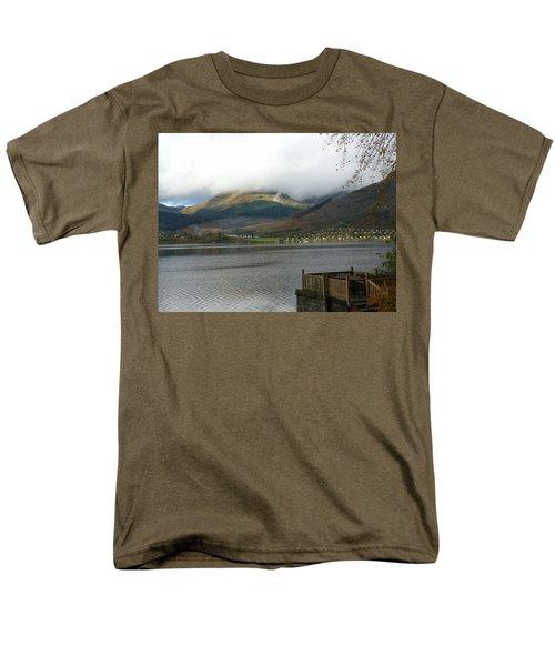Men's T-Shirt  (Regular Fit) featuring the photograph Cloud Over Beinn An Lochain by Lynn Bolt