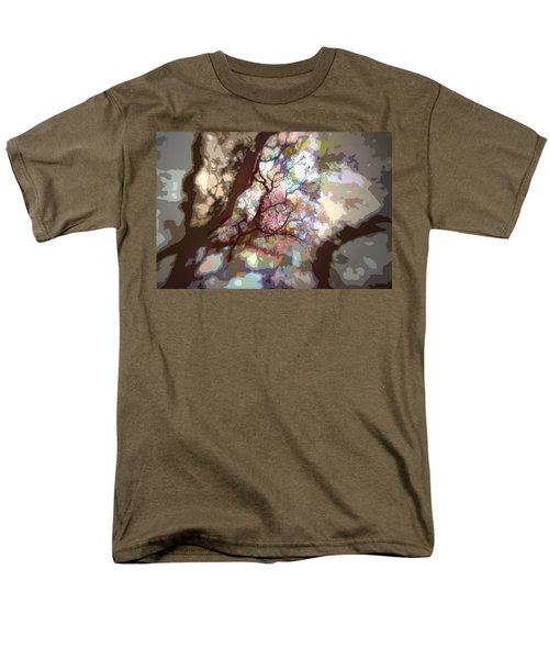 Colorful Tree Men's T-Shirt  (Regular Fit) by Diane Dugas
