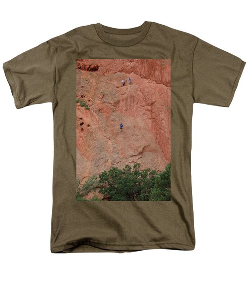 Coming Down The Mountain Men's T-Shirt  (Regular Fit) by Randy J Heath