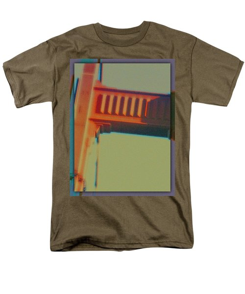 Men's T-Shirt  (Regular Fit) featuring the digital art Coming In by Richard Laeton