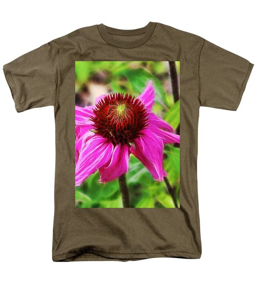 Coneflower Men's T-Shirt  (Regular Fit) by Judi Bagwell