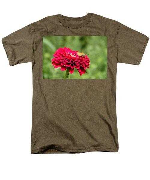 Men's T-Shirt  (Regular Fit) featuring the photograph Dahlia's Moth by Elizabeth Winter
