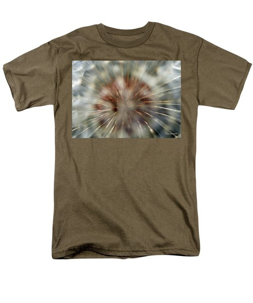 Dandelion Fluff Men's T-Shirt  (Regular Fit) by Kay Lovingood