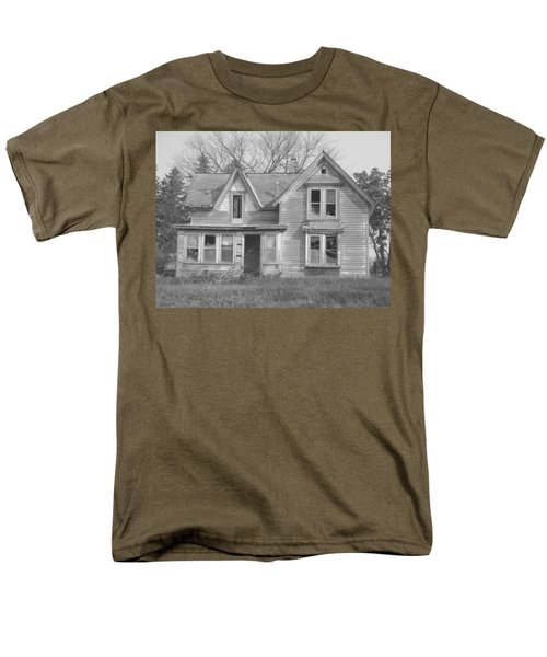 Men's T-Shirt  (Regular Fit) featuring the photograph Defiance B/w by Bonfire Photography