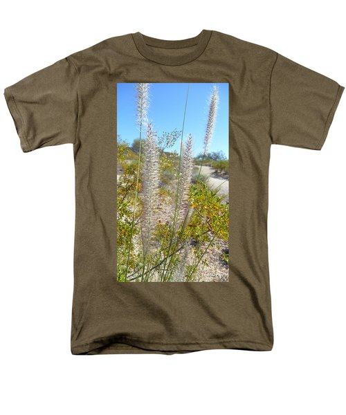 Men's T-Shirt  (Regular Fit) featuring the photograph Desert Trail by Kume Bryant