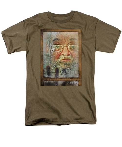 Men's T-Shirt  (Regular Fit) featuring the digital art Don't You See Me?  I'm Here. .  by Rhonda Strickland