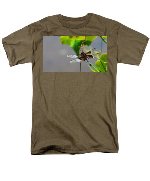 Dragonfly Men's T-Shirt  (Regular Fit) by Cindy Manero