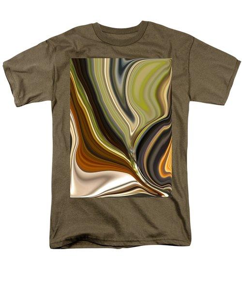 Earth Tones Men's T-Shirt  (Regular Fit) by Renate Nadi Wesley