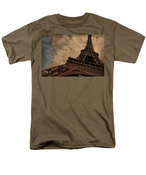 Eiffel Tower 2 Men's T-Shirt  (Regular Fit) by Mary Machare