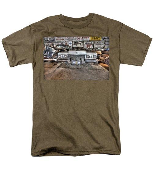 Elvis' Cadillac Men's T-Shirt  (Regular Fit) by Nicholas  Grunas