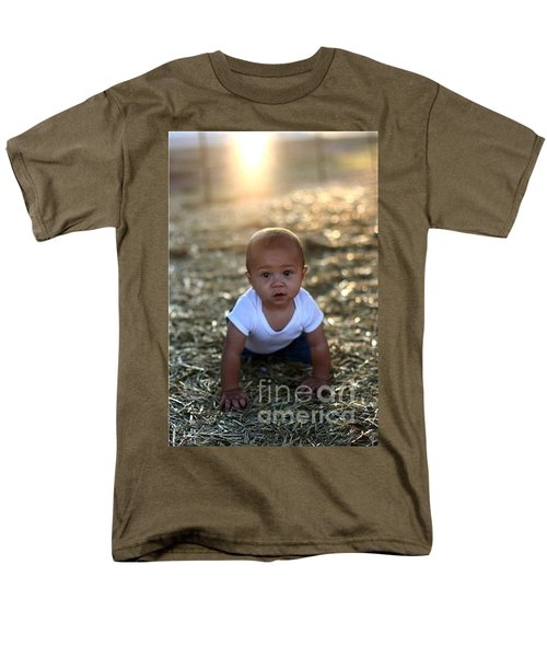Men's T-Shirt  (Regular Fit) featuring the photograph Ethan Sunset by Mark Robbins