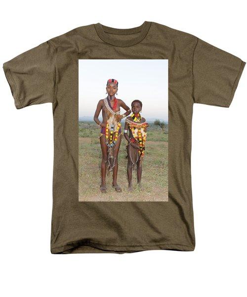 Ethiopia-south Sisters Men's T-Shirt  (Regular Fit) by Robert SORENSEN