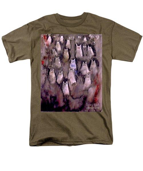 Eyes Are Wathching -2 Men's T-Shirt  (Regular Fit) by Yoshiko Mishina