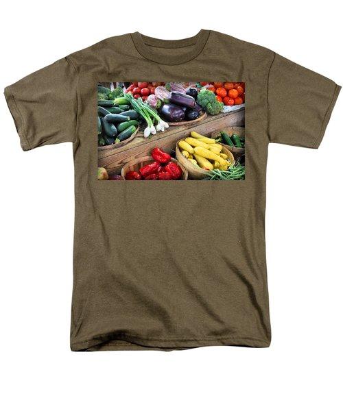 Farmers Market Summer Bounty Men's T-Shirt  (Regular Fit) by Kristin Elmquist
