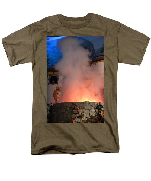 Fiery Entrance Men's T-Shirt  (Regular Fit) by Bonnie Myszka