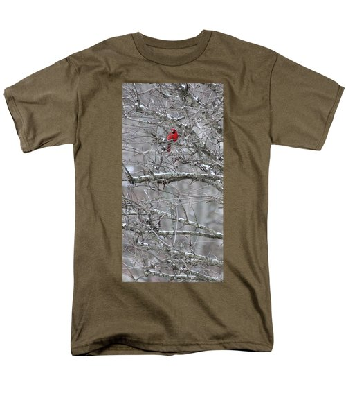 Men's T-Shirt  (Regular Fit) featuring the photograph First Snow Fall by Kume Bryant