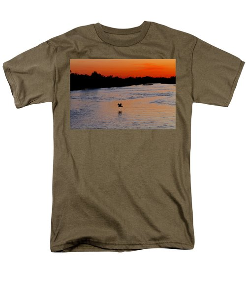 Men's T-Shirt  (Regular Fit) featuring the photograph Flight Of The Turkey by Elizabeth Winter