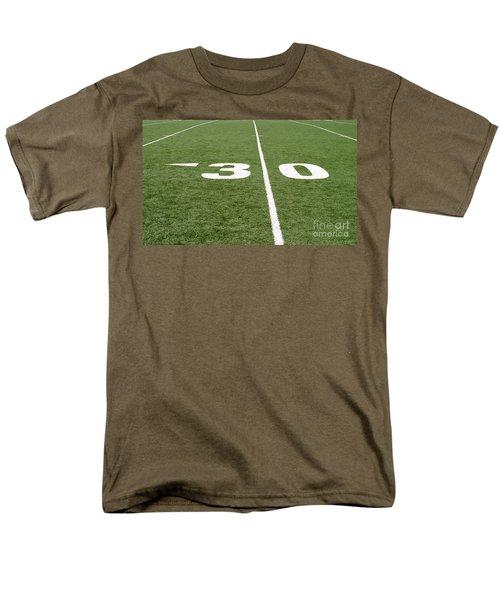 Men's T-Shirt  (Regular Fit) featuring the photograph Football Field Thirty by Henrik Lehnerer