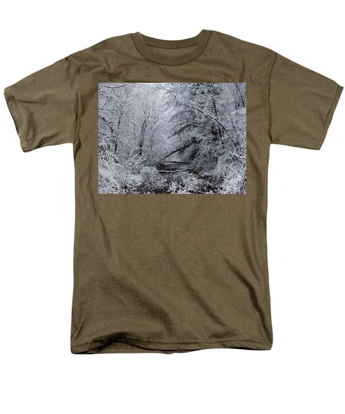 Men's T-Shirt  (Regular Fit) featuring the photograph Forest Lace by Christian Mattison