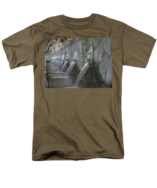 Men's T-Shirt  (Regular Fit) featuring the photograph Fountain by David Gleeson