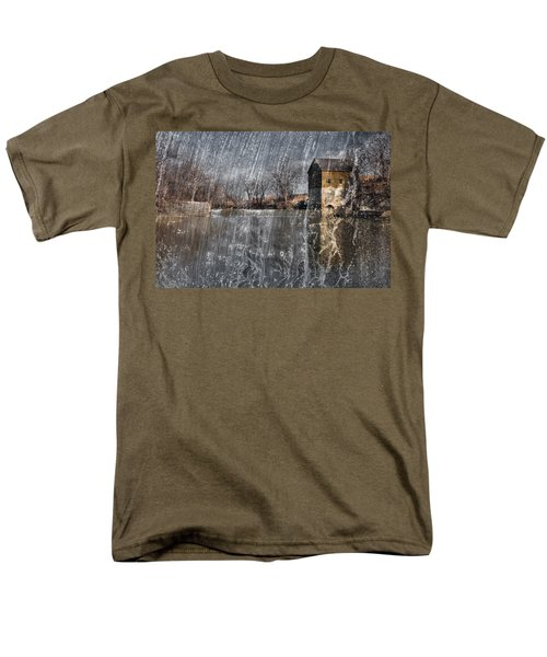 Men's T-Shirt  (Regular Fit) featuring the photograph Fredonia Mill by Brian Duram
