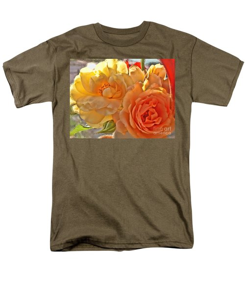 Men's T-Shirt  (Regular Fit) featuring the photograph Golden Light by Debbie Portwood