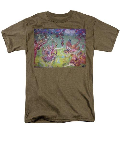 Good Morning Fairies Men's T-Shirt  (Regular Fit) by Judith Desrosiers