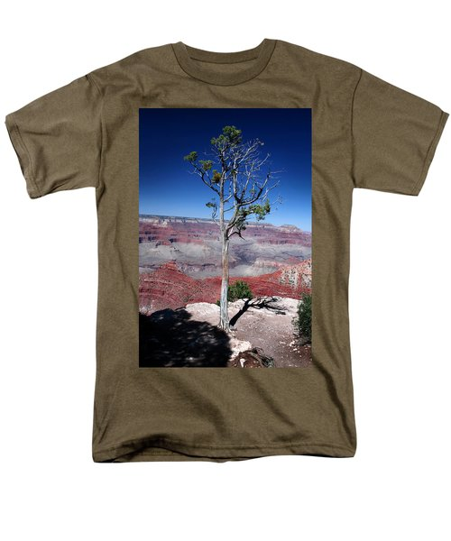 Men's T-Shirt  (Regular Fit) featuring the photograph Grand Canyon Number Two by Lon Casler Bixby