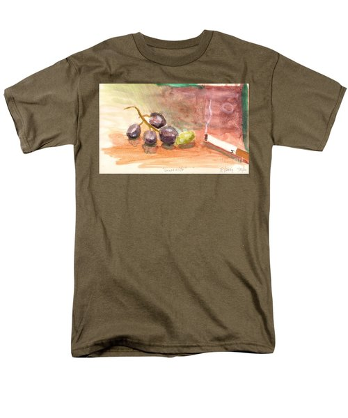 Men's T-Shirt  (Regular Fit) featuring the painting Grapeality by Rod Ismay