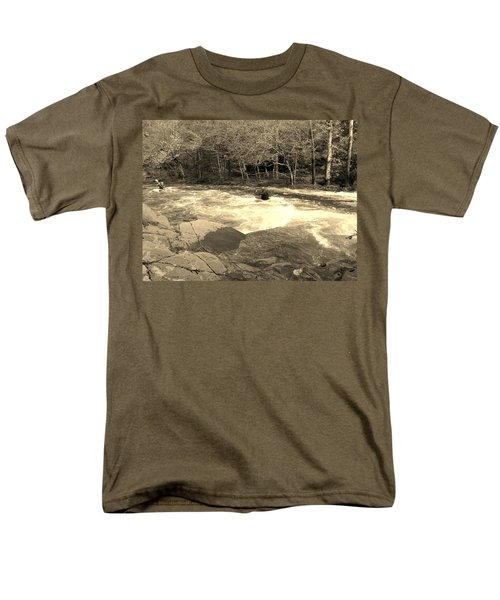 Great Smoky Mountain Men's T-Shirt  (Regular Fit) by Janice Spivey