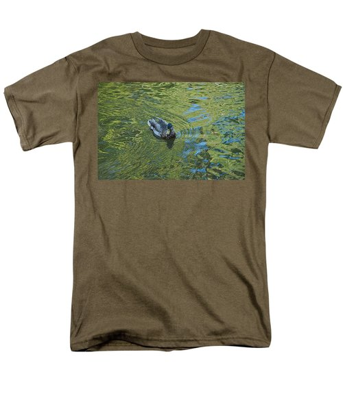 Men's T-Shirt  (Regular Fit) featuring the photograph Green Pool by Joseph Yarbrough